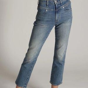 AMO Freja High Rise Front Yoke Vintage Jeans
